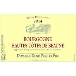 Hautes Côtes de Beaune Domaine Denis Pères et Fils 2015