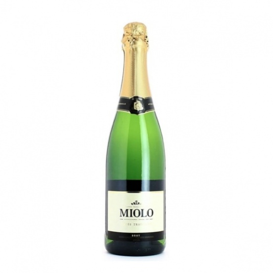 Vin brésilien effervescent (Rio Grande do Sul) Miolo Brut Méthode Traditionnel